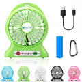 Rechargeable Mini Fan Nail Dryer Necklace on Phone