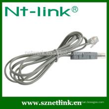 Cable de red de cable de prueba cat5e utp