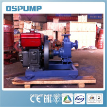 HIgh flow self priming sewage pump with samll diesel