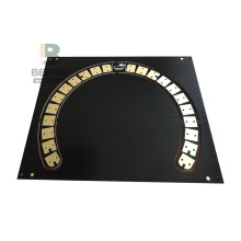 BentePCB Prototype PCB Black Ink 2 Layers PCB FR4 Tg135 PCB ENIG