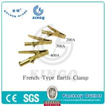 Kingq soldadura eléctrica tierra pinza de soldadura antorcha