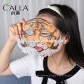 Neue Produkte Beauty OEM 3D echte Tier feuchtigkeitsspendende Gesichtsmaske