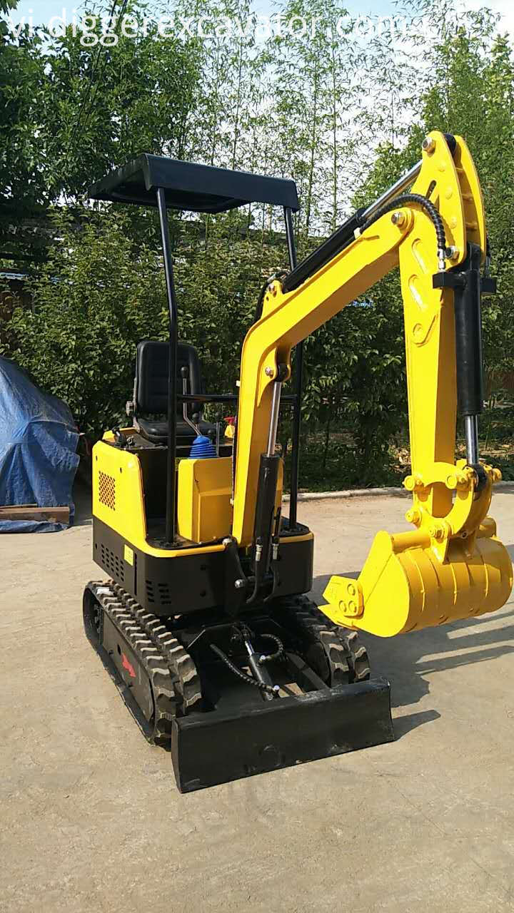 small hydraulic excavator machines