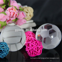 Crystal volleyball for decoration