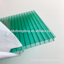 Garantia de 10 anos Folha de policarbonato transparente de 6 mm