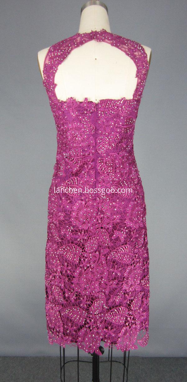 Sleeveless Short Prom Dress