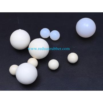 Bola de silicone claro