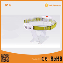 S16 White Light Outdoor Emergency Headlamp Plastic LED Camping Lamp