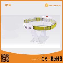 S16 Белый свет Открытый чрезвычайным фары пластиковые светодиодные лампы кемпинг