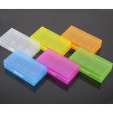 Colorful 18650 Boîte de rangement pour batterie Boîte en plastique
