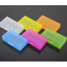 Colorful 18650 caixa de armazenamento para a caixa de plástico da bateria