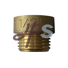 brass male female straight extension pipe fitting