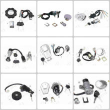 Motorcycle lock set key assy