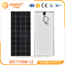 OEM service Mono 155w solar panel good price 1000w kit