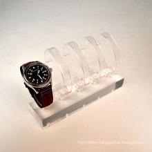 Practical Plexiglass Watch Display Rack, Acrylic Watch Display Stand