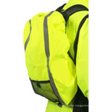 Fluo Cover for Backpack with Reflective Stripe