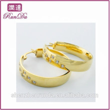 Alibaba new arrival gold diamond earring designs earrings