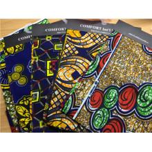 Tissu en gros 100% coton Real African Ankara Fabrics