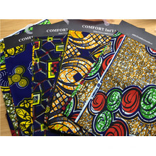 Wholesale Fabric 100%Cotton Real African Ankara Fabrics