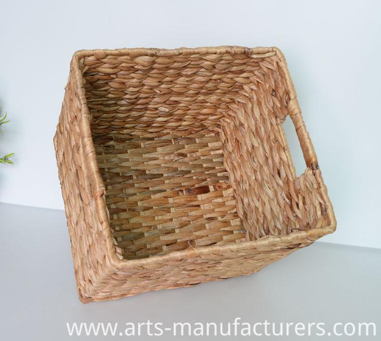 weaving storage basket
