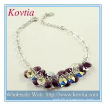 Beads moda jóias de prata jóias por atacado jóias pulseira de prata cadeia