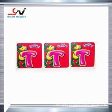 Imán de moda promocional del refrigerador de la fabricación de papel de cobre