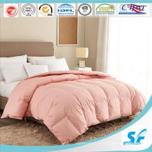 Одеяло из микрофибры розового цвета / одеяло из полиэстера / альтернативное пуховое одеяло