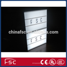 2015 New Design Custom Light Box Letters With Led Light