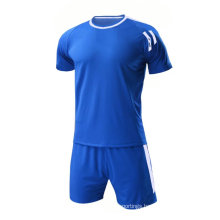 100% polyester soccer uniform men training wear football jersey