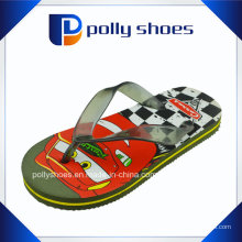 Vente en gros Cartoon Boy PE Flip Flop Baby Slipper