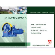 Máquina da tração do elevador de engrenagem (SN-TMYJ250B)