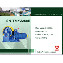 Machine de traction d'ascenseur d'engrenage (SN-TMYJ250B)