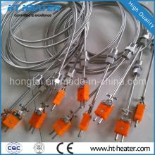 Sensor de Temperatura Thermocouple Tipo K com Plug Padrão