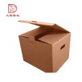 Caixa de embalagem de alimentos personalizados profissional impresso barato