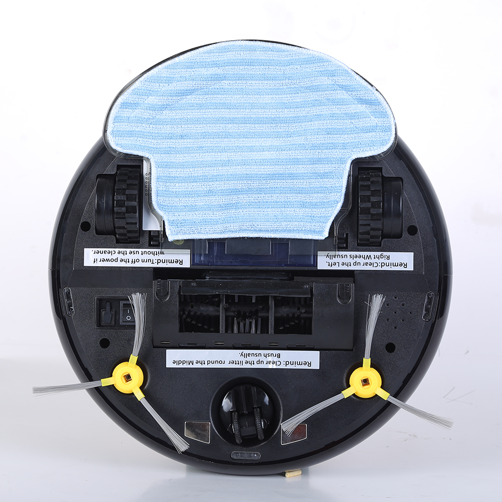 LED Display Robot Vacuum (2)