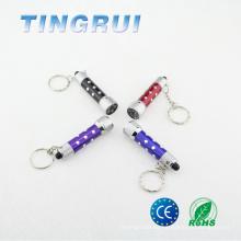 Heiße Knopfzellenbatterie Kleine Schlüsselring-Taschenlampe