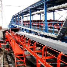 Aplicación del transportador de banda estándar a través de ASTM / DIN / Cema / Sha en el puerto
