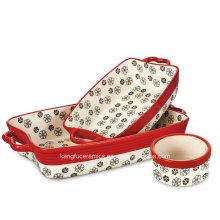 Professional Manufacturer Daily Use Porcelain Bakeware