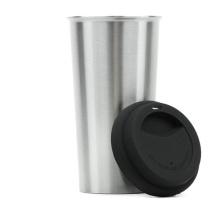 Aislamiento de vacío de acero inoxidable de doble pared de 700ml taza de café