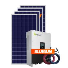 Système d'alimentation solaire Bluesun mini système solaire 5kw pour un usage domestique