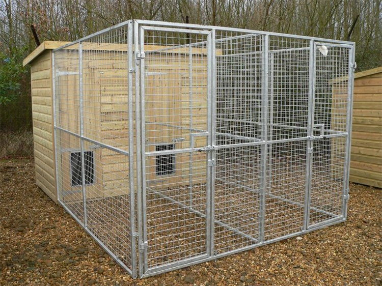 Dog boarding kennels Eco-Friendly Feature enclosures cage