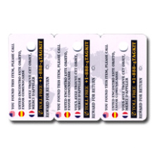 Perforated Scratch Card Plastic Card VIP Card PVC Card