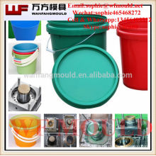 2017 new design 20 liter paint pail/OEM Custom 20 liter paint pail plastic injection moulds