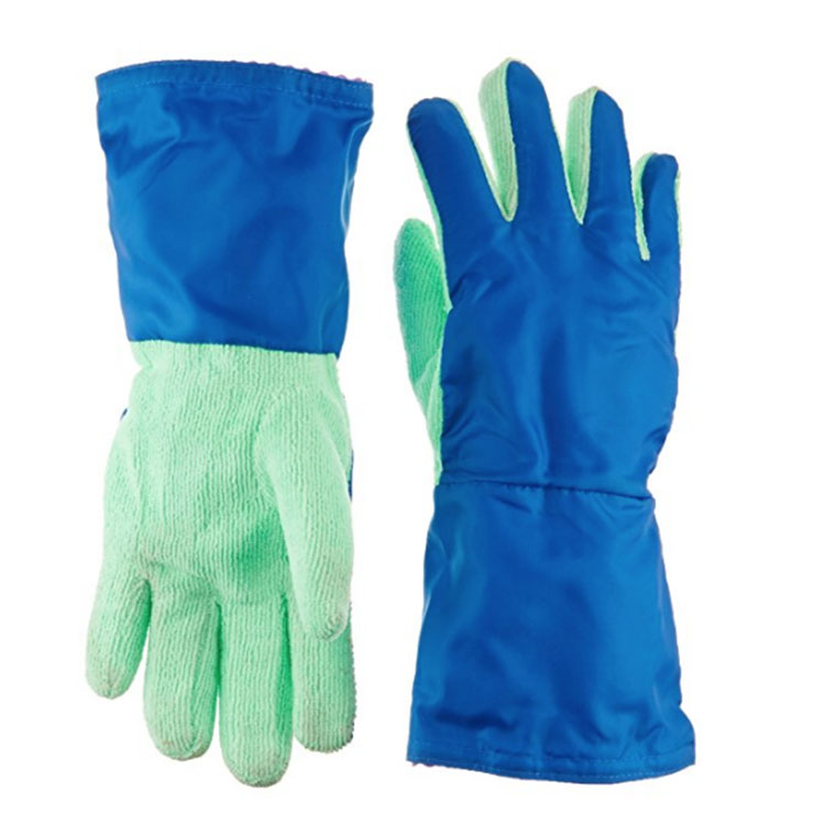 Blue Cleaning Lining Gloves