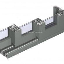 Panneaux multi-pièces résidentiels Porte empilable en aluminium