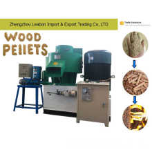Feul Wood Pellet Used for Chemney /Furnace Sawdust Granular Mill Leabon Supply