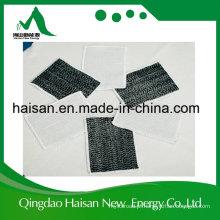 Alta Qualidade 300GSM Resistente Ao Calor Do Material Do Telhado Geossintético Argila Liner Gcl com Ce / ISO9001