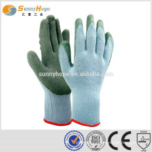 10 Gauge blue esd finger coated gloves