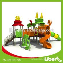 Hot Import Kinder Outdoor Spielplatz Big Slides zum Verkauf LE.TY.009