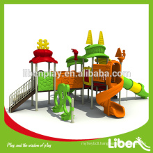 Hot Import Children Outdoor Playground Big Slides for sale LE.TY.009